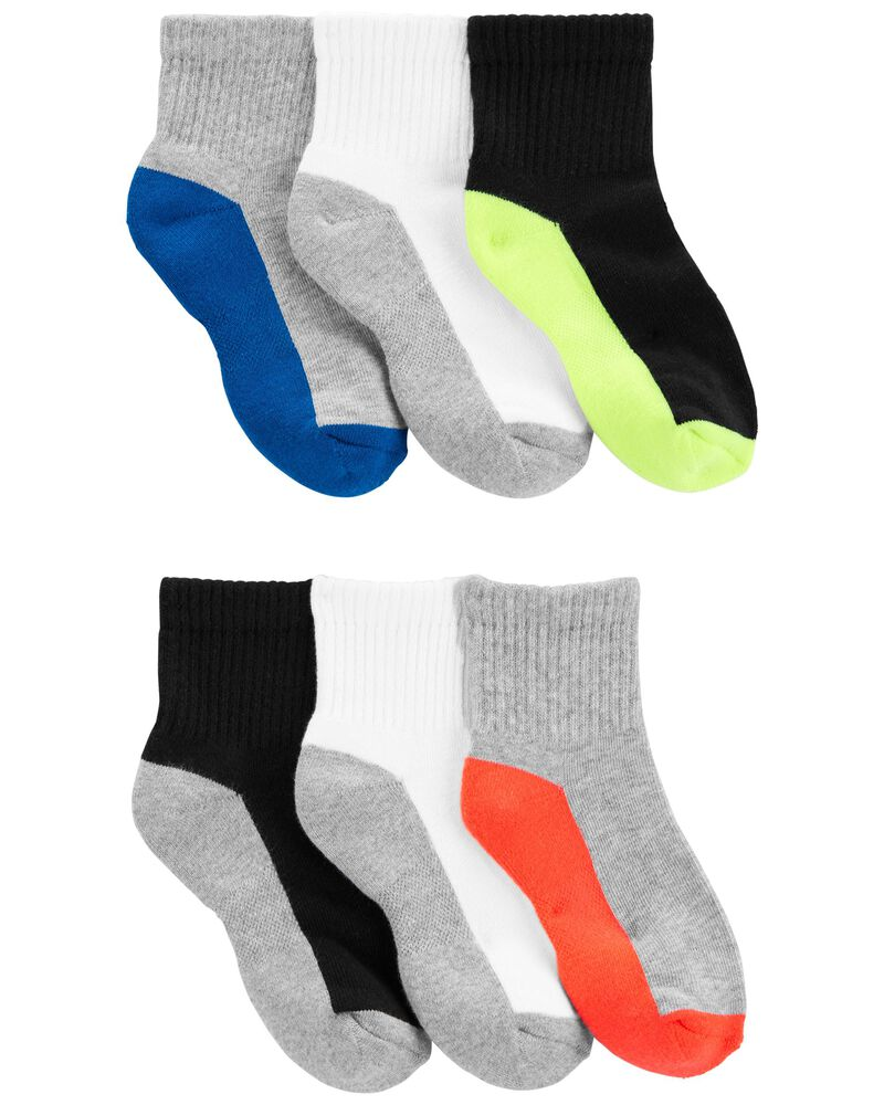 6-Pack Active Socks, , hi-res