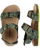 Camo Cork Sandals, , hi-res