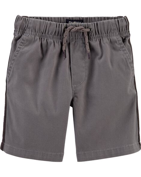 Side Stripe Pull-On Shorts