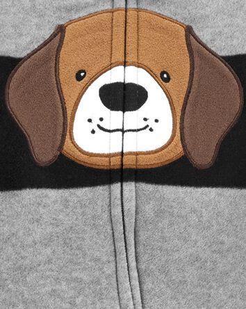 Dog Zip-Up Fleece Sleep & Play