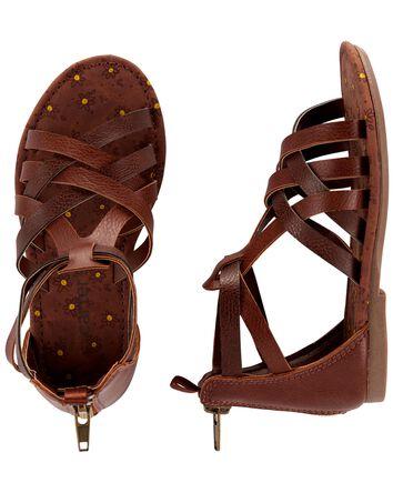 Sandales de style gladiateur
