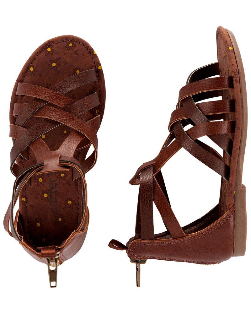 Sandales de style gladiateur, , hi-res