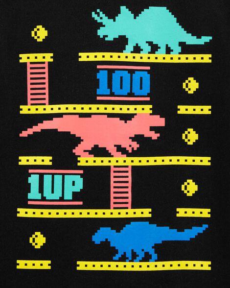 T-shirt à imprimé original dinosaure