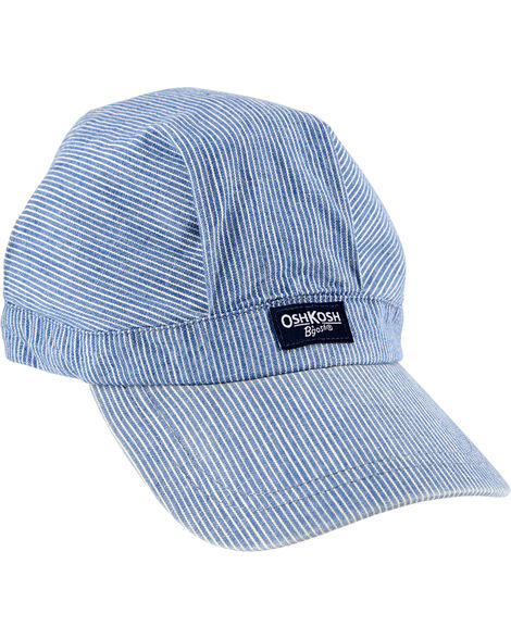 Casquette à rayures hickory