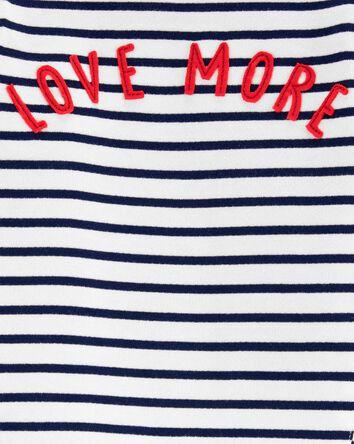 T-shirt à imprimé LOVE