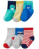 Emballage de 6 paires de chaussettes à personnage, , hi-res