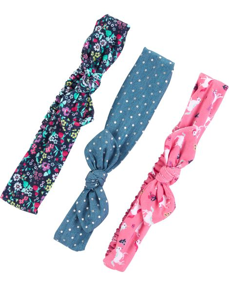 3-Pack Headwraps