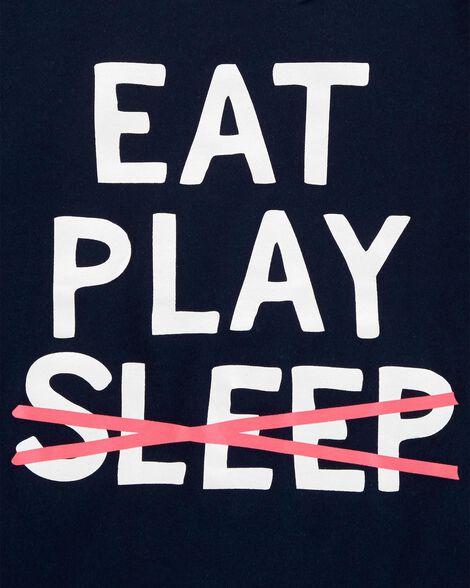 T-shirt à imprimé original Eat Play Sleep