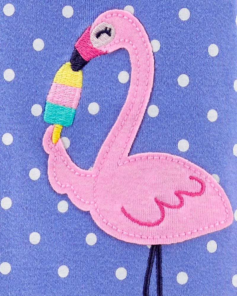 1-Piece Flamingo 100% Snug Fit Cotton Footie PJs, , hi-res