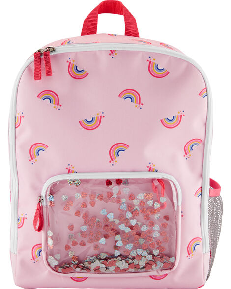OshKosh Rainbow Confetti Backpack