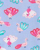 Pyjama 4 pièces en coton ajusté , , hi-res