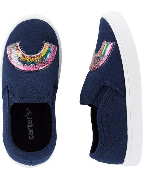Sequin Rainbow Casual Sneakers