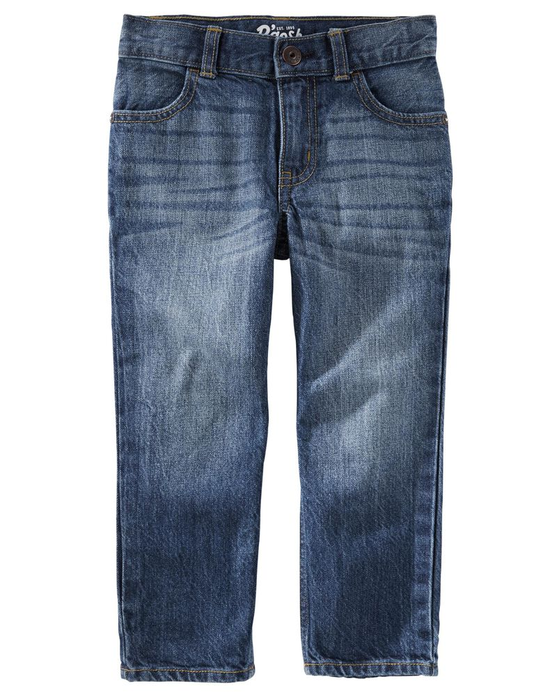 Straight Jeans - Authentic Tinted Wash, , hi-res