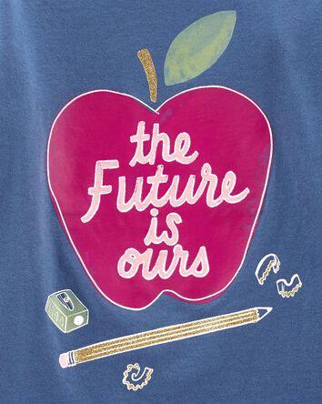 T-shirt en jersey à pomme