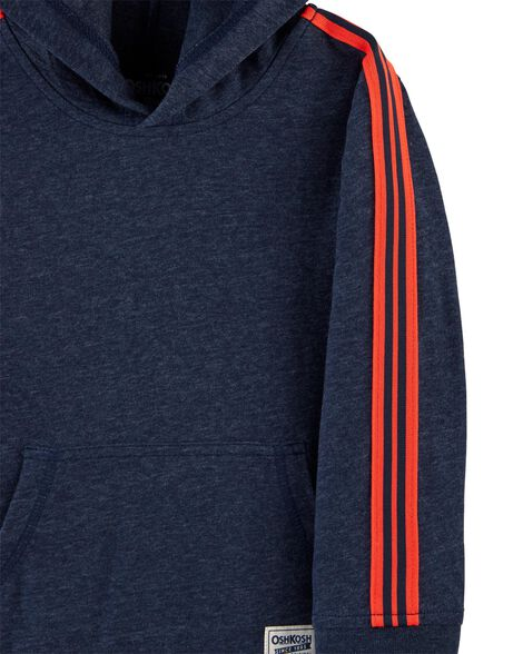 Hooded Athletic Pullover