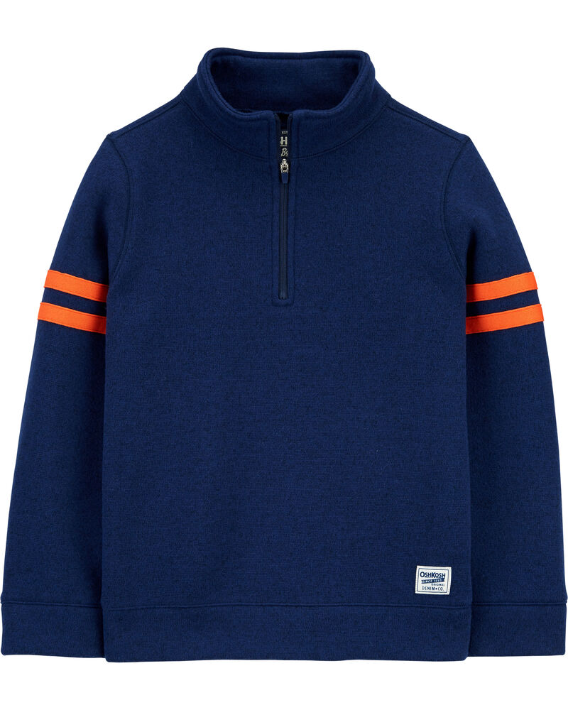 Half-Zip Pullover, , hi-res