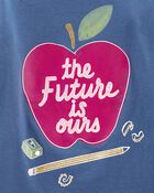 T-shirt en jersey à pomme, , hi-res