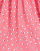 Polka Dot Jersey Dress, , hi-res