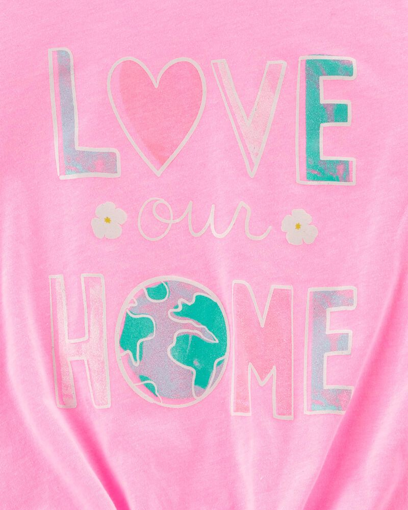 T-shirt en jersey Love Our Home , , hi-res