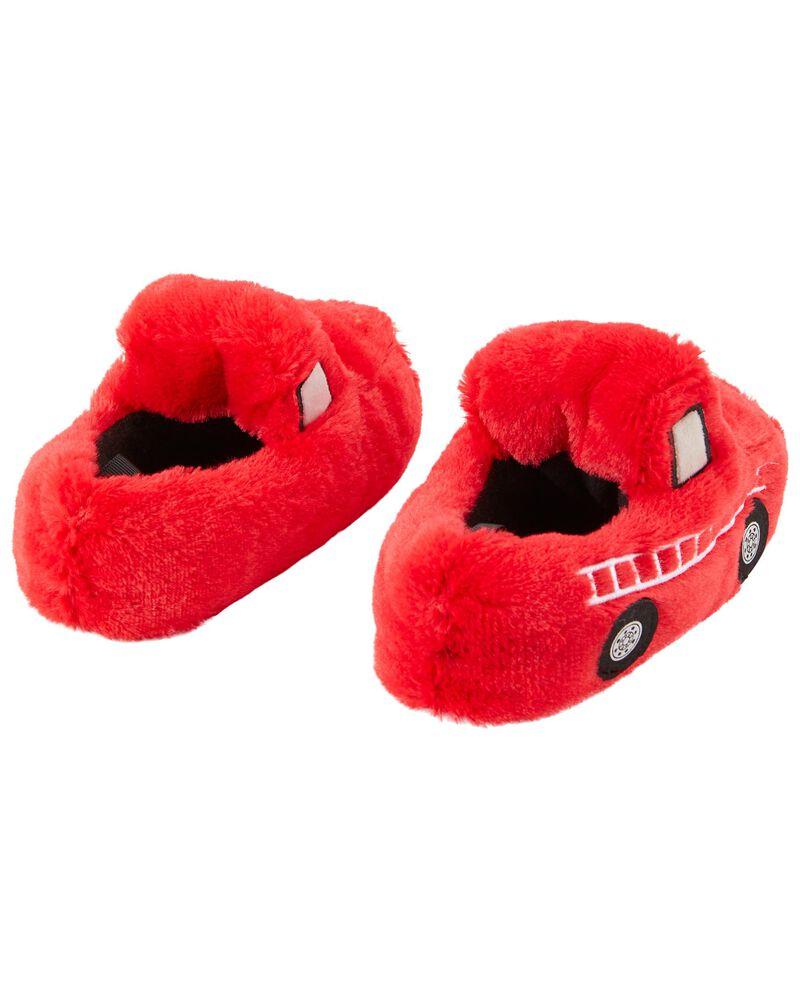 Firetruck Slippers, , hi-res