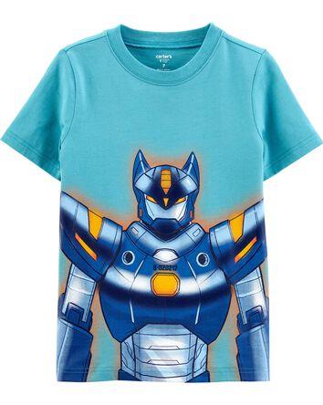 T-shirt en jersey avec robot