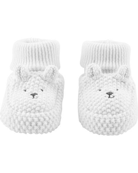 Chaussettes pour bébé à oursons