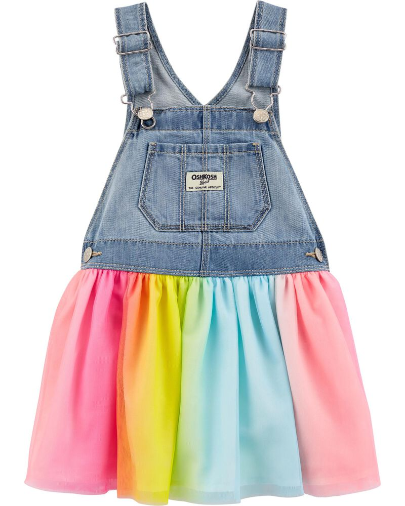 Rainbow Tulle Jumper, , hi-res
