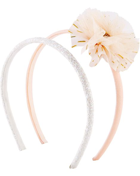 2-Pack Plume Headbands