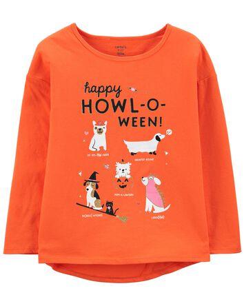 Glow Halloween Jersey Top