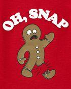 T-shirt isotherme petit bonhomme en pain d'épice, , hi-res