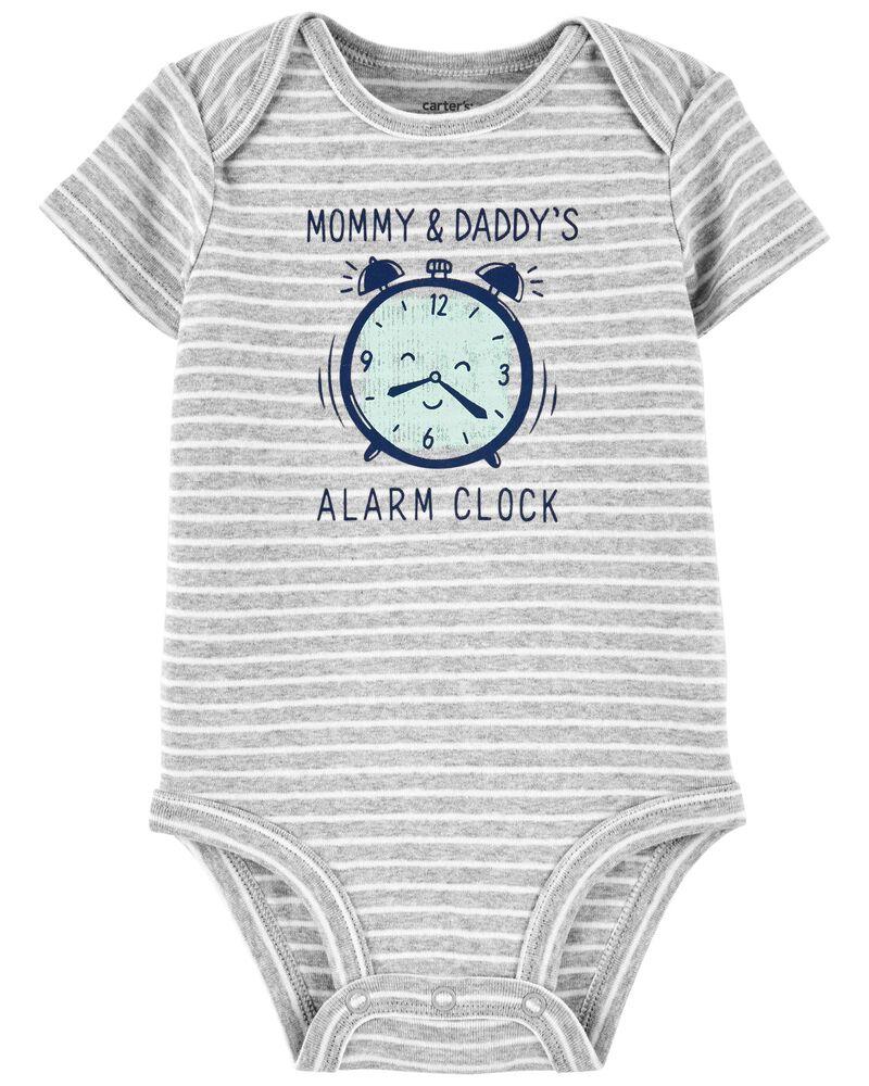 Alarm Clock Original Bodysuit, , hi-res