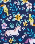 Fleece-Lined Unicorn Rain Jacket, , hi-res
