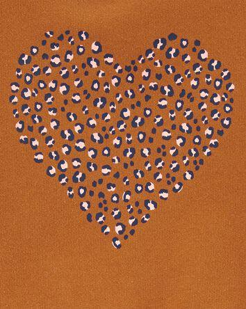Leopard Heart Sweatshirt