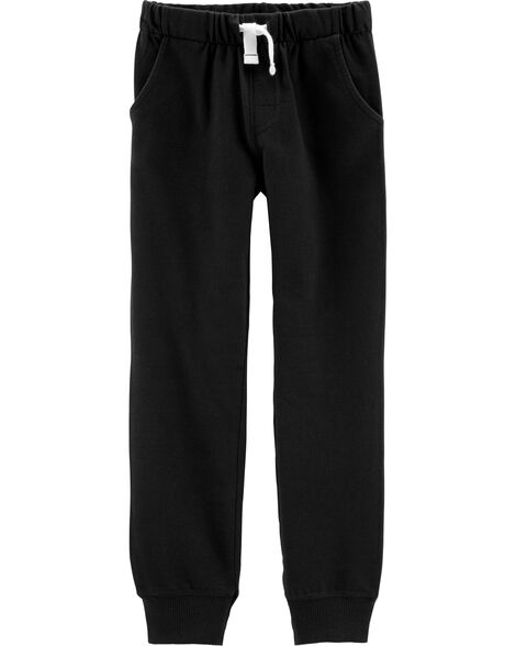 Pull-On French Terry Joggers