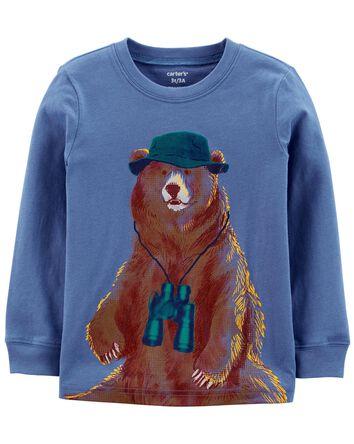 T-shirt en jersey Bear