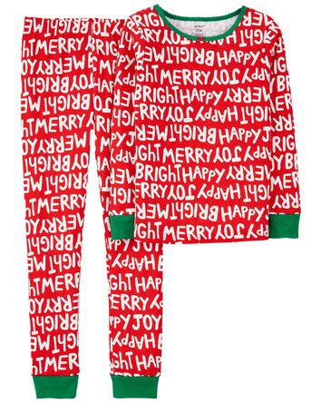 Pyjama des Fêtes 2 pièces en coton...