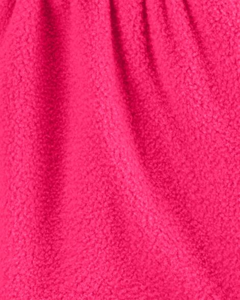 Cardigan en molleton avec glissière