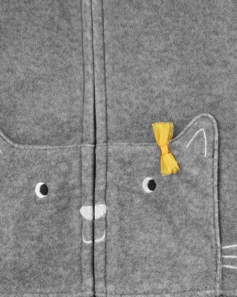3-Piece Cat Little Jacket Set