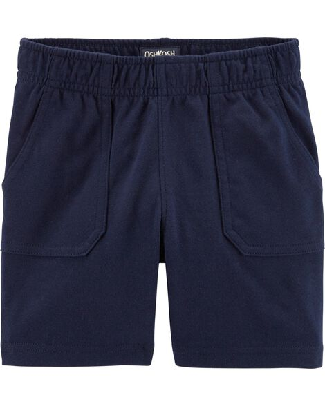 Short à enfiler en jersey