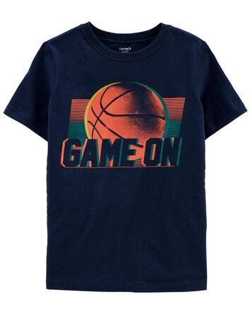 Basketball Jersey Tee