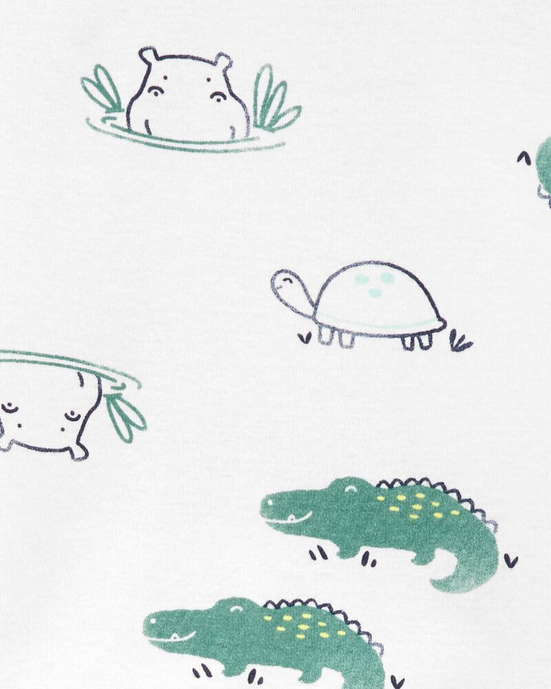 2-Piece Animals 100% Snug Fit Cotton PJs, , hi-res