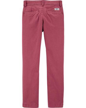 Pantalon en coutil extensible