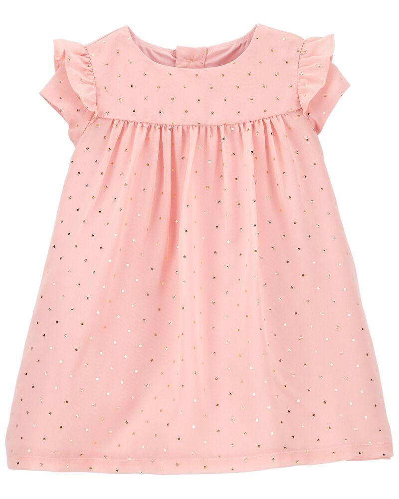 Polka Dot Special Occasion Dress, , hi-res