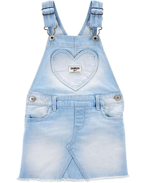 Heart Pocket Denim Jumper