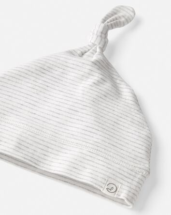 Bonnet en tricot de coton bio