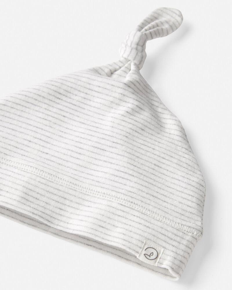 Bonnet en tricot de coton bio, , hi-res