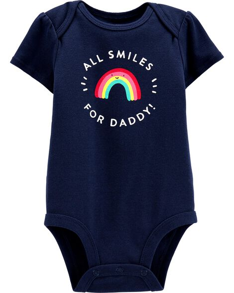 All Smiles For Daddy Collectible Bodysuit