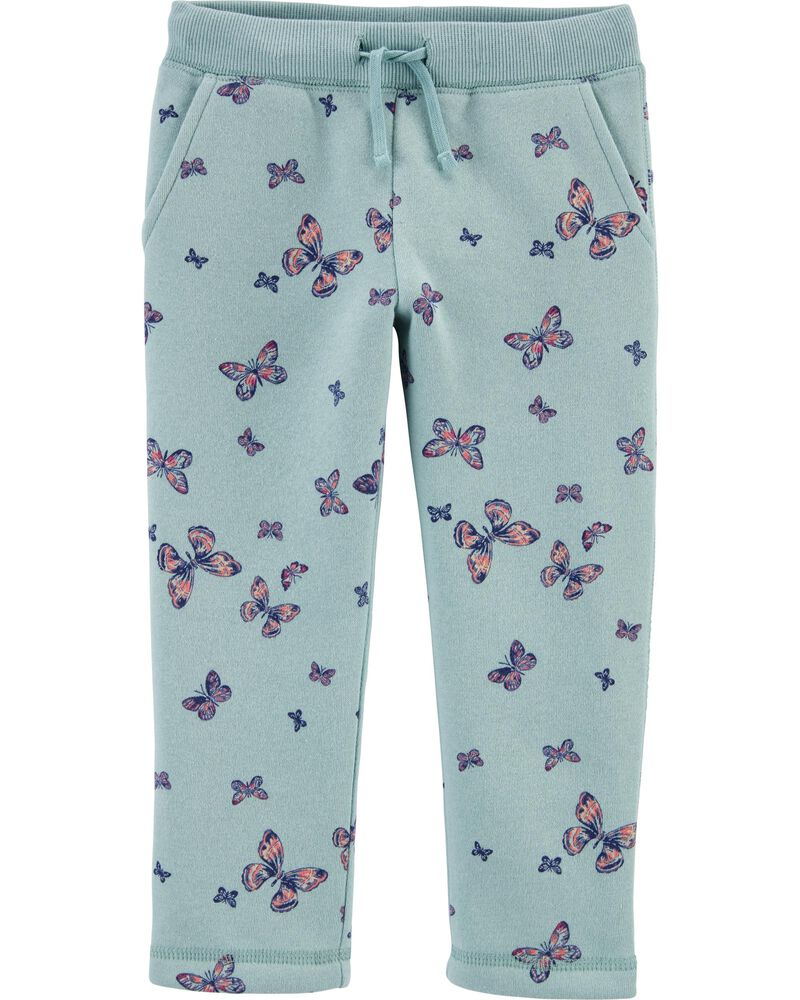 Butterfly Fleece Pants, , hi-res