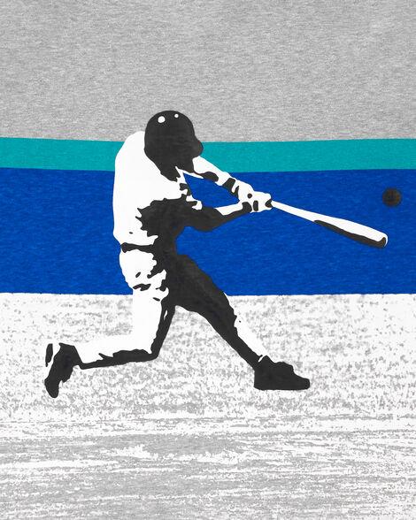 T-shirt de sport baseball