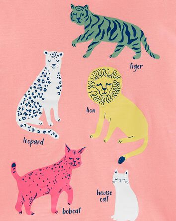 Leopard Jersey Tee